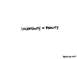 Uncertainty-Equals-Reality